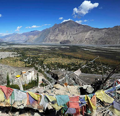 Explore India's remote Nubra Valley