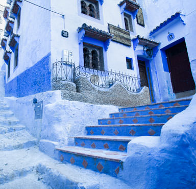 Discover Morocco's blue city