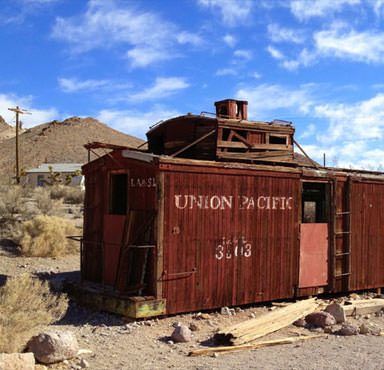 Ghost towns and aliens in Nevada