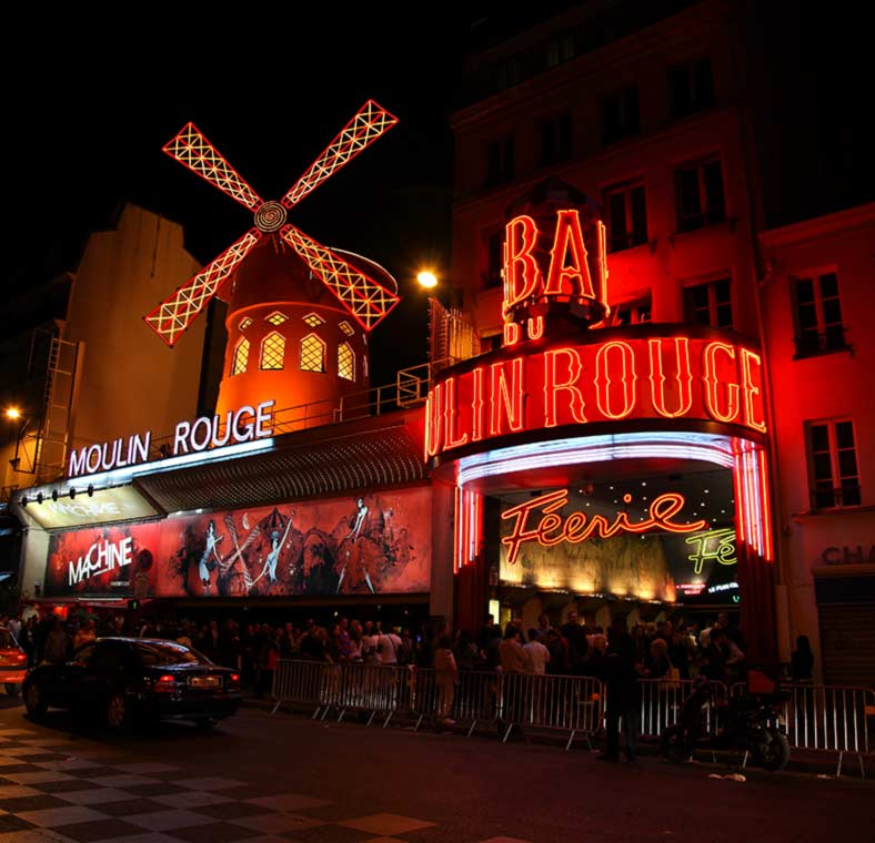 Paris nightlife adult france