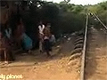 Train Crash, Cambodia