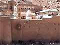 Touch the burning bush at St. Katherine's Monastery. Behold Mt. Sinai where the Ten Commandments were given to Moses, written in stone.
