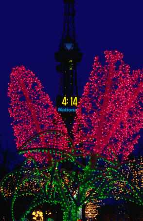 The annual Illumination Festival is one of the highlights of a winter visit to Sapporo.
