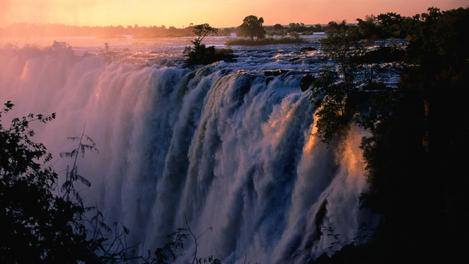 Sunset, Zambia
