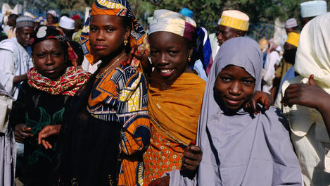 women from Kano, Durbar Festival, Nigeria
