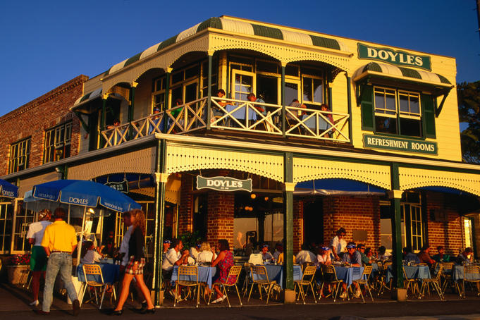 Alfresco dining at Doyles, Watsons Bay - Sydney, New South Wales