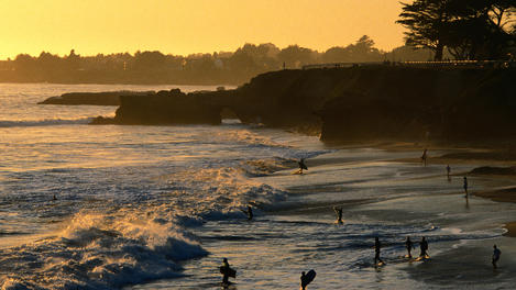Beach, Santa Cruz
