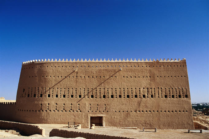 Atturaif Bath and Guest House in the ancient site of Al Dir'aiyah near Riyadh.