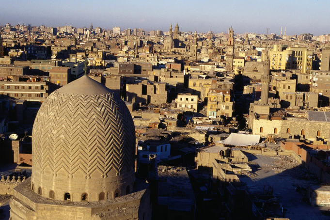 View of Islamic Cairo.