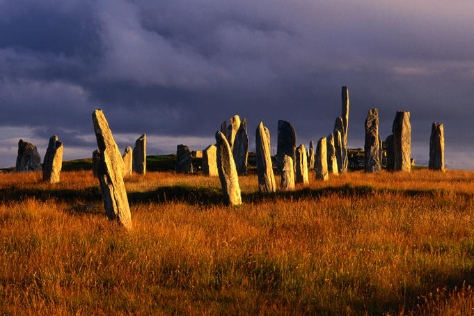Callanish Standing Stones which date back around 5000 years ago.