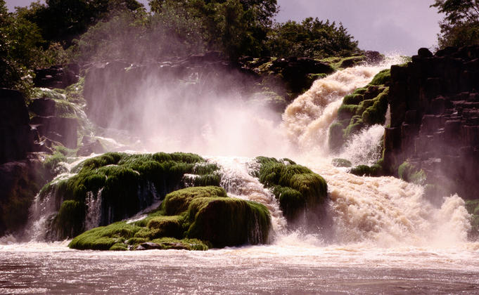 Waterfall, Jari River.