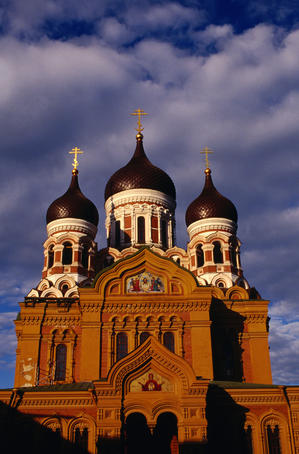 Russian Orthodox St Alexander Nevski Cathedral, 19th century.
