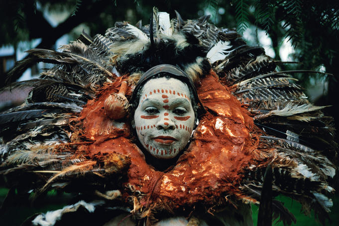Witch doctor from Kikuyu tribe.