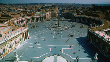 St Peters Square, Vatican City