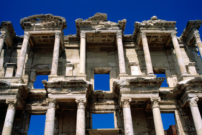 Ruins of Celsus Library.