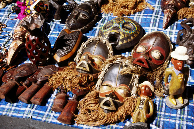 Masks for sale.