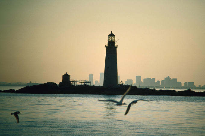 The Graves Lighthouse in Boston.