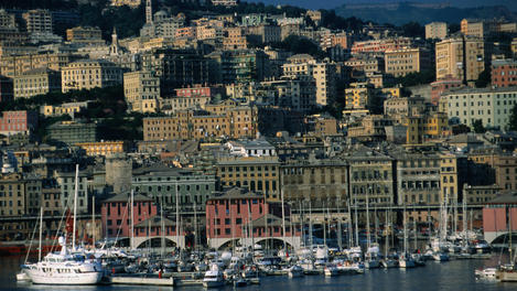 Port and marina, Genoa