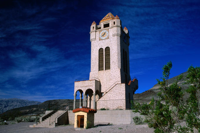 Scotty's Castle, Death Valley National Park.