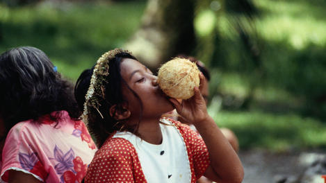 Coconut milk, Marshall Islands