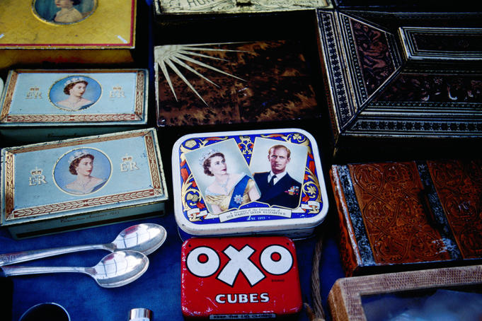 Burmondsey antique market.