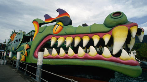 Dragon passenger boat, Interlaken