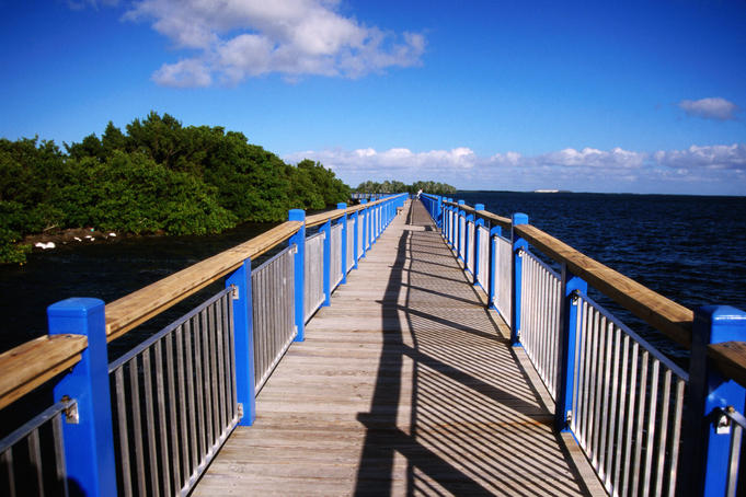 Boardwalk, Biscayne National Park.