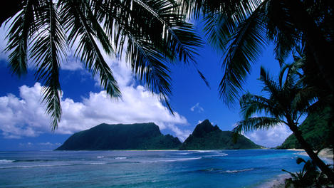 Olosega Island, American Samoa