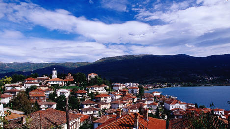 Town, Ohrid Lake, Ohrid