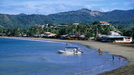 Fishing village, San Juan Del Sur