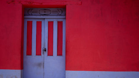Painted house, Suchitoto