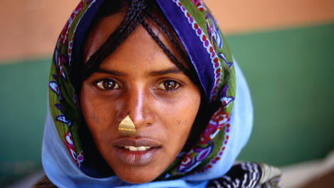 girl from Tigre tribe, Eritrea