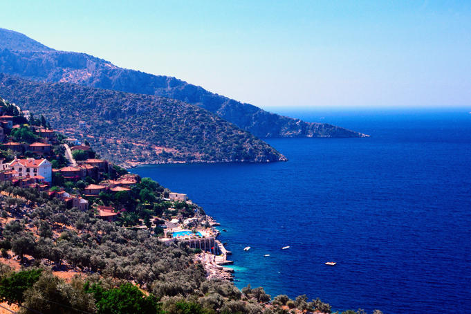 West Mediterranean Coast near Kas