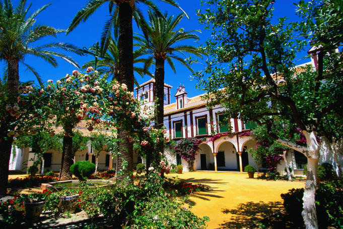 The beautifully grand Hacienda Guzman - Seville, Andalucia