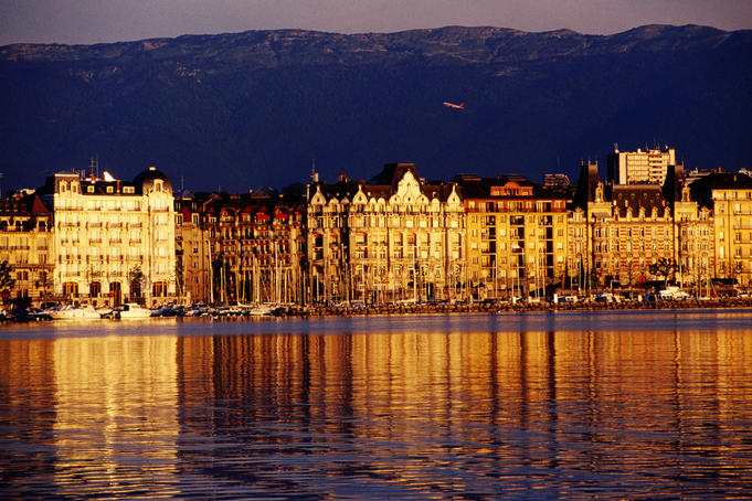 Number three: Geneva, Switzerland Super sleek, slick and cosmopolitan, Geneva is a gem of a city superbly strung around the sparkling shores of Europe's largest Alpine lake.