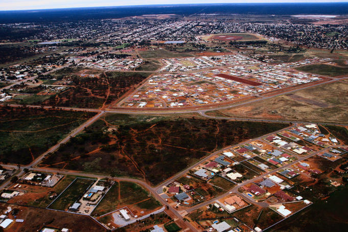 The longest lasting and most sucessful gold mining town of Kalgoorlie, Western Australia
