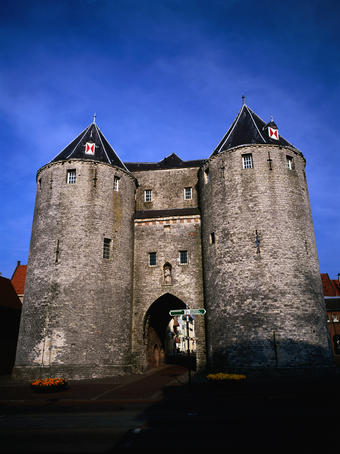Old city gates of Bergen Op Zoom.