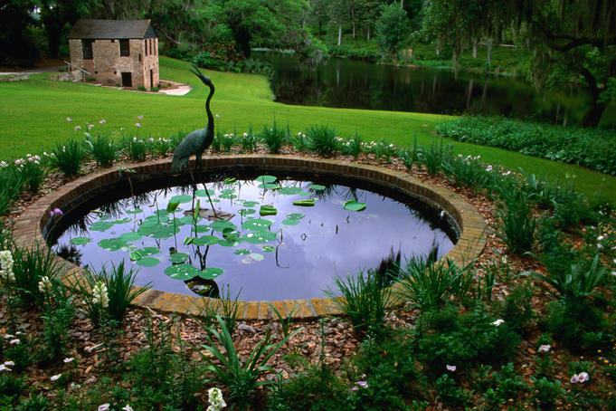 Middleton Place has nations oldest landscaped gardens (1741).