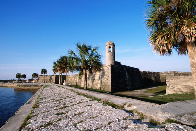 Castillo de San Marcos National Monument.