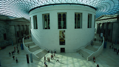 Great Court of British Museum.