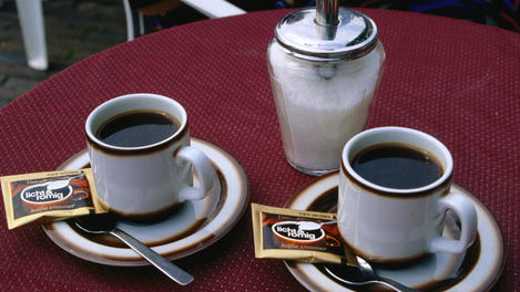 Dutch coffee, Leiden