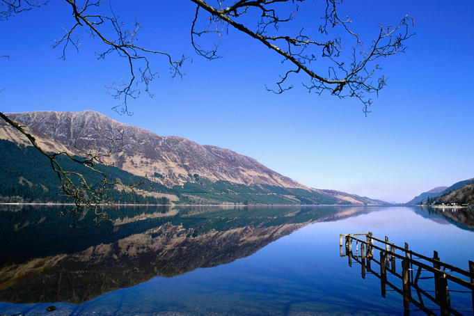 Loch Lochy near Fort William.
