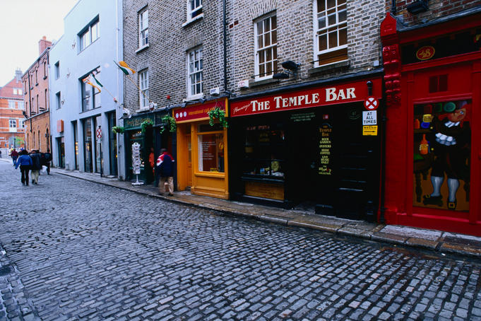Temple Bar is Dublin's Cultural Quarter, it was first developed in the 19th century with narrow cobbled streets running close to the banks of the river Liffey
