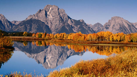 Autumn, Grand Teton National Park