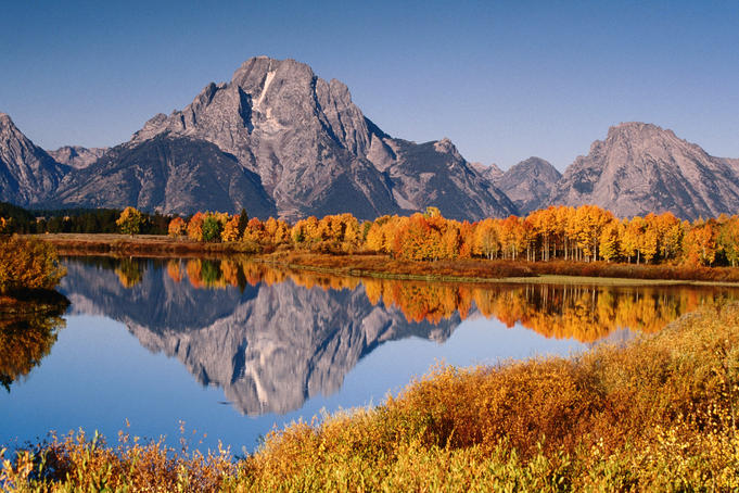 Autumn in Grand Teton National Park.
