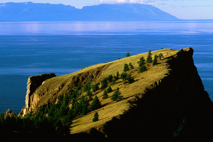 Olkhon Island in Lake Baikal.