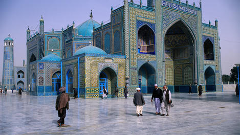 Shrine of Hazrat Ali, Afghanistan