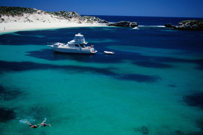 A great place for diving where you can check out the southernmost coral in the world and a number of shipwrecks - Rottnest Island, Western Australia