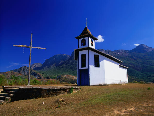 Chapel in Antonio Pereira district.