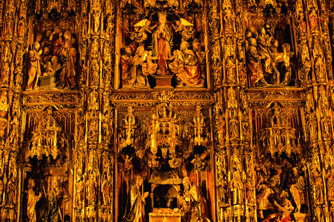 Golden Retablo Mayor, Seville Cathedral.